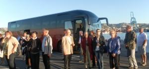 Migratour à Marseille pour la visite du MSC Splendida